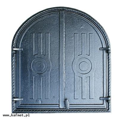drzwiczki półokrągłe do wędzarni
