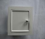 drzwiczki białe (wyczystka kwadratowa)