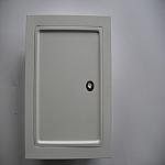 drzwiczki białe (wyczystka prostokątna)